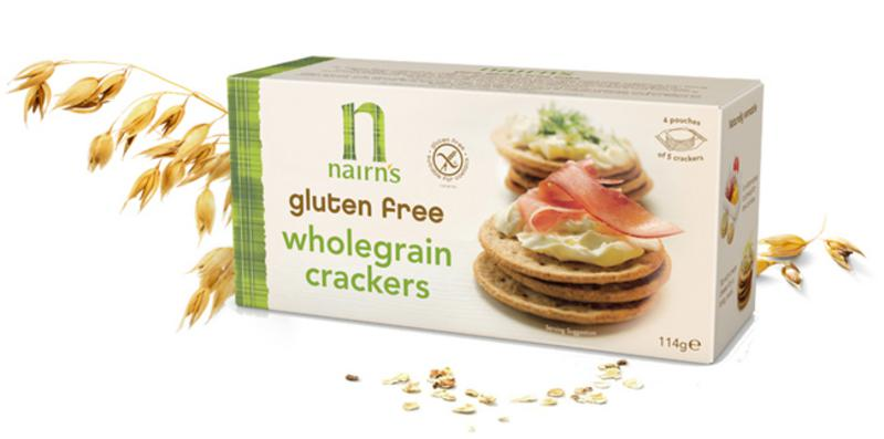 Wholegrain Crackers Gluten Free