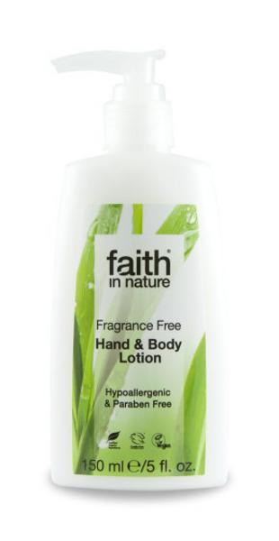 Hand & Body Lotion Fragrance Free Vegan