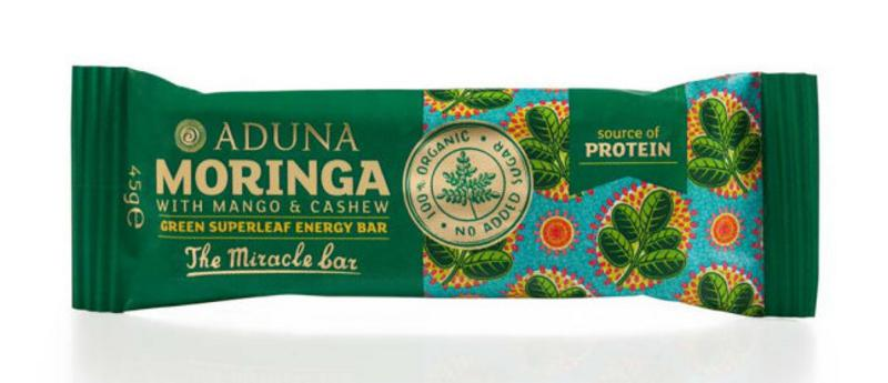 Moringa Green Superleaf Snackbar ORGANIC