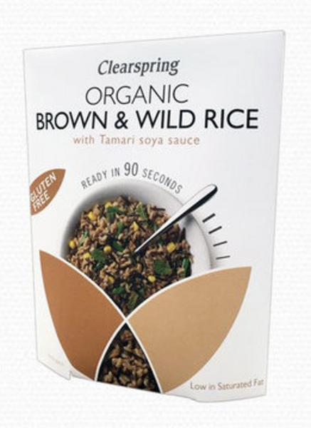 90 Second Brown & Wild Rice With Tamari Gluten Free, ORGANIC