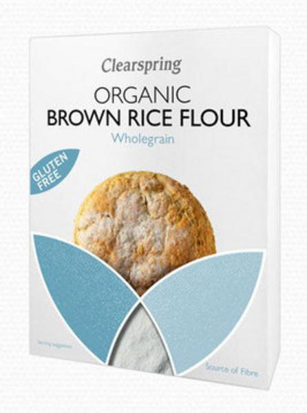 Wholegrain Brown Rice Flour Gluten Free, wheat free, ORGANIC