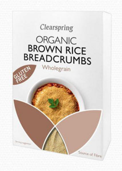 Brown Rice Breadcrumbs Wholegrain Gluten Free, ORGANIC