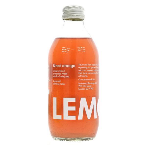 Blood Orange Lemonade FairTrade, ORGANIC