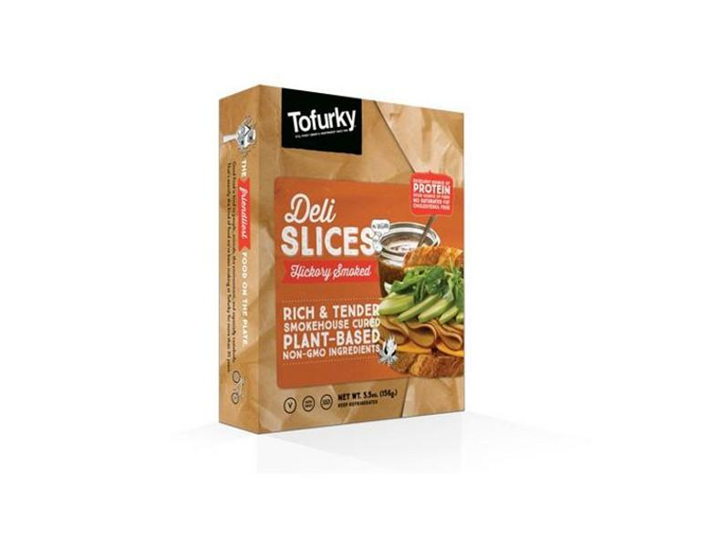 Hickory Smoked Deli Style Slices Meat Substitute Vegan