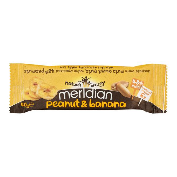 Peanut & Banana Snackbar Vegan