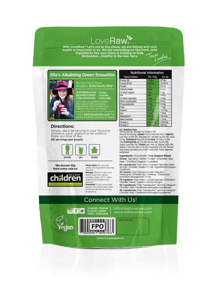 Easy Greens Superfood Powder ORGANIC image 2