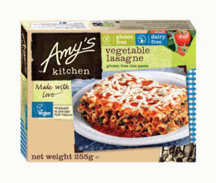 Vegetarian Lasagne Gluten Free, Vegan
