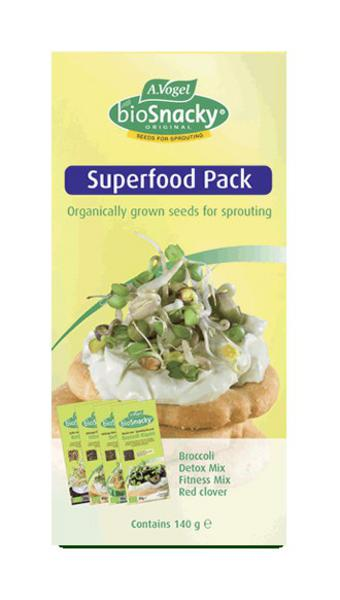 BioSnacky Superfood Sprouting Mix Vegan, ORGANIC