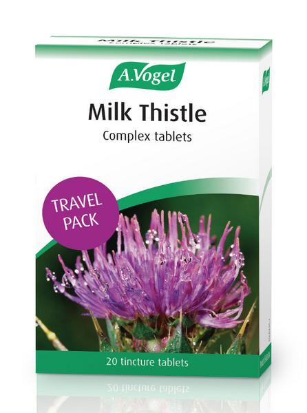 Milk Thistle Travel Size In 20tabs From A Vogel