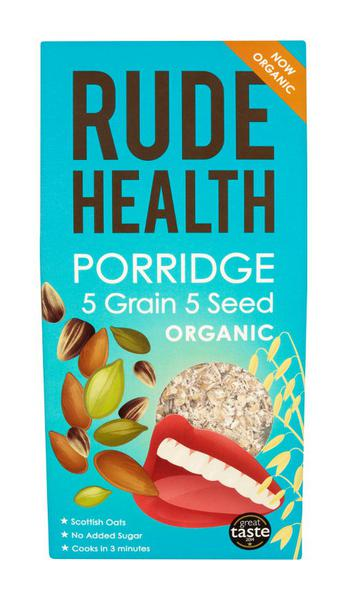 5 Grain 5 Seed Porridge no added salt, no added sugar