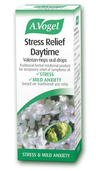 Stress Relief Daytime Herbal Remedy Vegan, ORGANIC