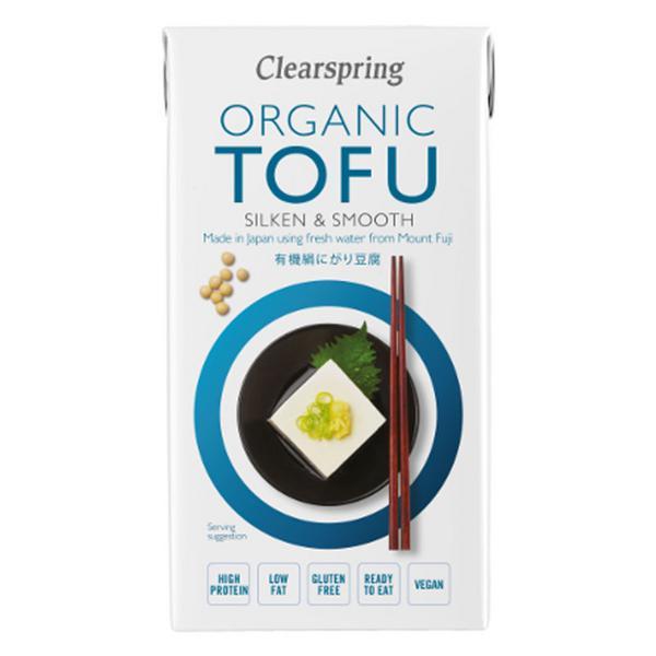 Silken Tofu Long Life Gluten Free, wheat free, ORGANIC