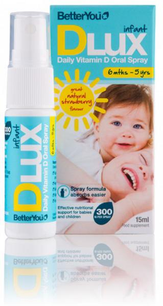 DLux Infant Vitamin D Spray Gluten Free