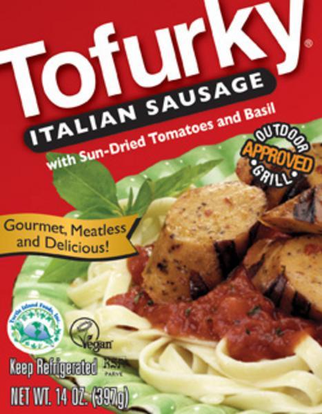 Italian Style Vegetarian Sausage Vegan