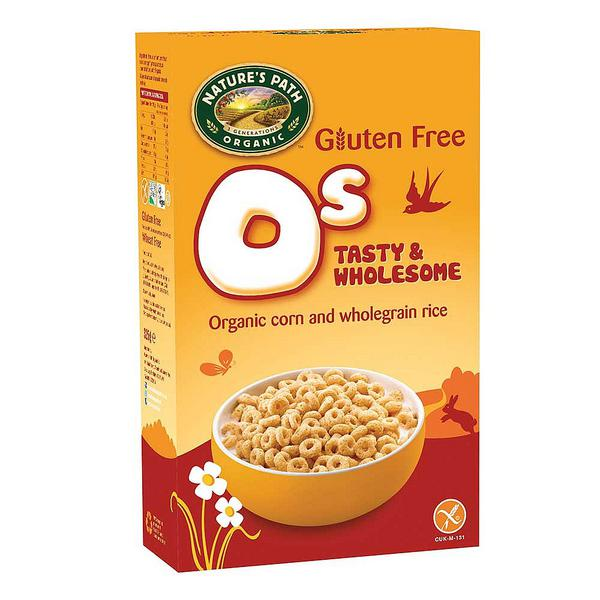 O's Cereal Gluten Free, ORGANIC