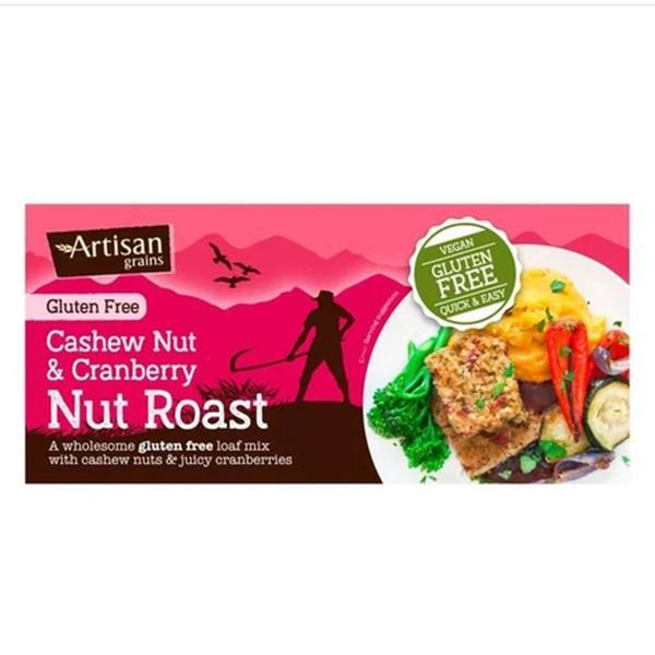 Cashew & Cranberry Nut Roast Mix Gluten Free, Vegan