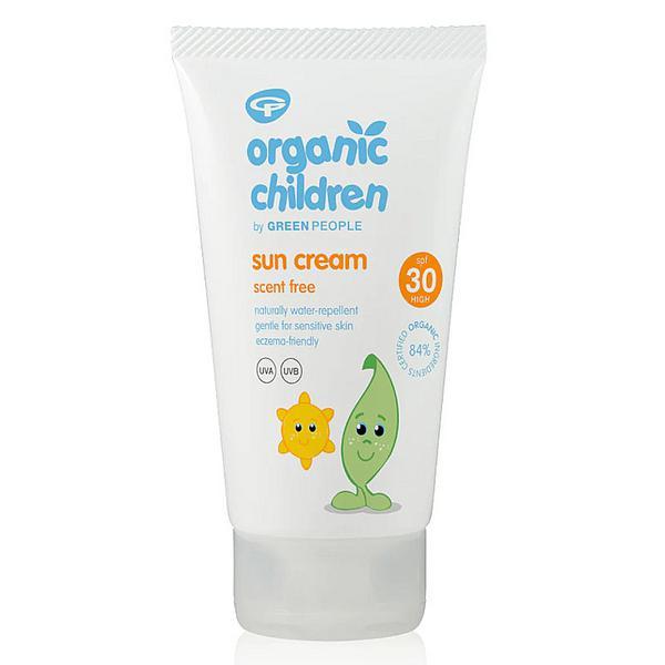 Kids Sunscreen No Scent SPF 30 Vegan, ORGANIC