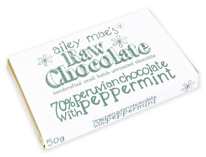 Peppermint Raw Chocolate