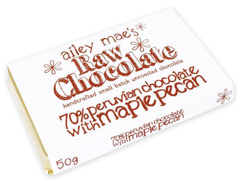Maple & Pecan Raw Chocolate