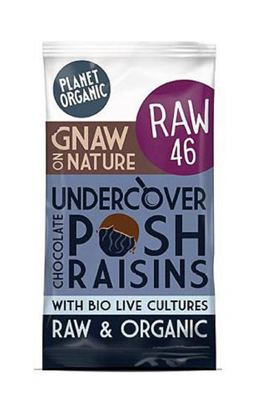 Undercover Chocolate Raisins No Gluten Containing Ingredients, Vegan, ORGANIC