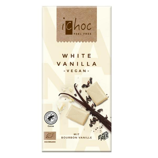 Vanilla Rice White Chocolate iChoc Vegan