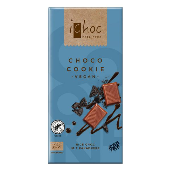 Choco Cookie Alternative to Milk Chocolate iChoc Vegan