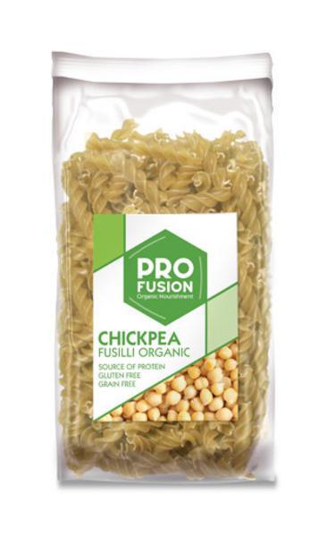 Chickpea Fusilli Pasta Gluten Free, ORGANIC