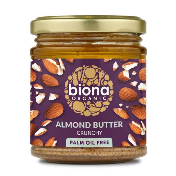 Crunchy Almond Nut Butter ORGANIC
