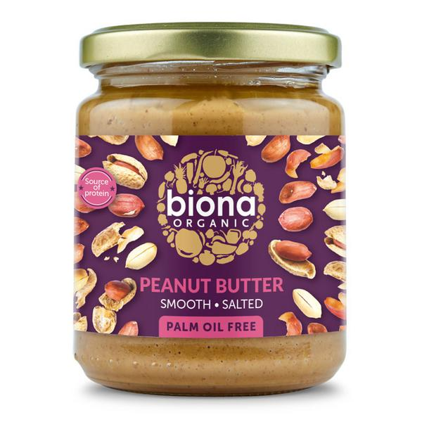 Smooth Peanut Butter With Sea Salt ORGANIC