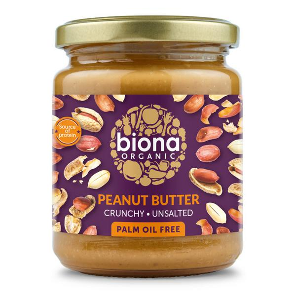 Crunchy Peanut Butter no added salt