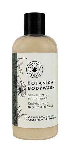 Geranium & Peppermint Body Wash Vegan