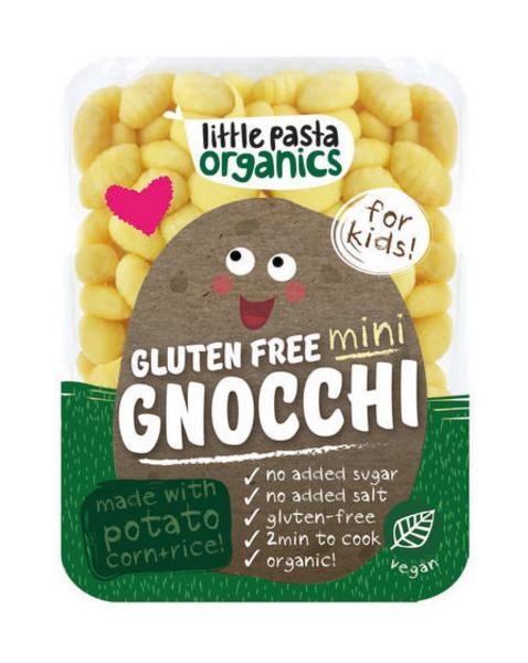 Gnocchi Mini Gluten Free, no added salt, no added sugar, Vegan