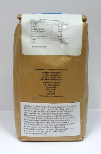 Strong Bread Flour ORGANIC image 2