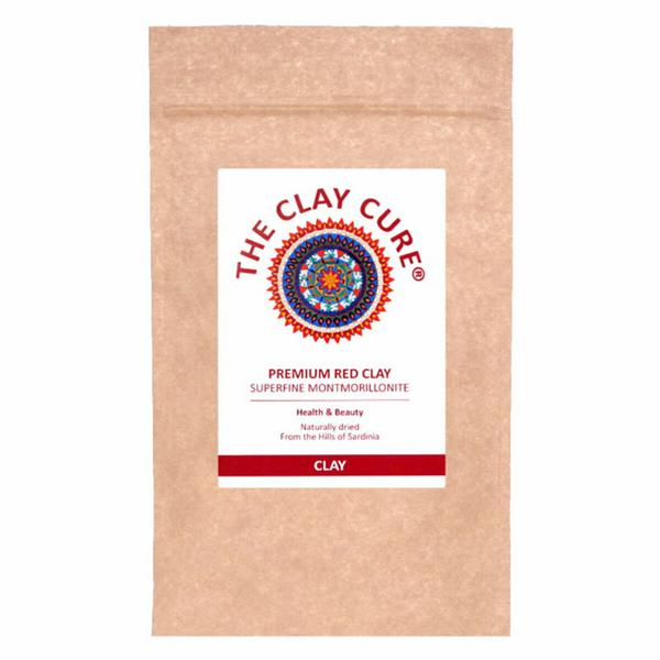 Premium Red Clay Facial Treatment No Gluten Containing Ingredients