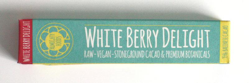 Raspberry & Coconut Raw Chocolate Bar Vegan, ORGANIC image 2