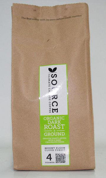 Dark Roast Ground Coffee Uganda ORGANIC