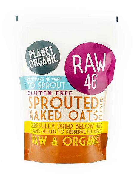 Sprouted Naked Oat Flour Gluten Free, ORGANIC