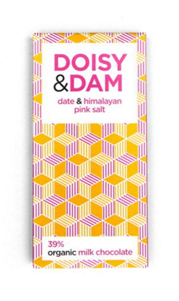 Date & Himalayan Pink Salt Milk Chocolate