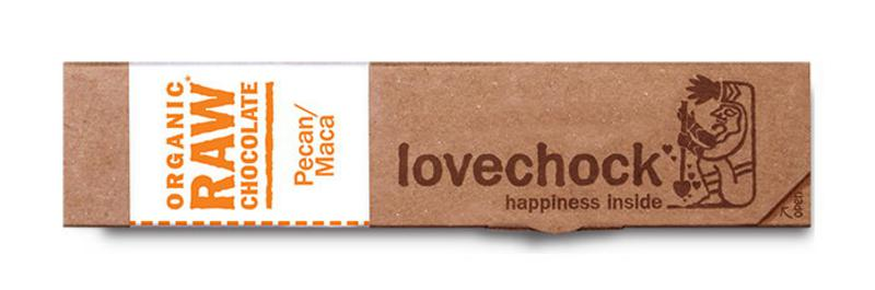 Pecan & Maca Raw Chocolate Vegan, ORGANIC