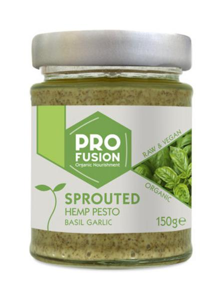 Sprouted Hemp Pesto Basil & Garlic Gluten Free, Vegan, ORGANIC