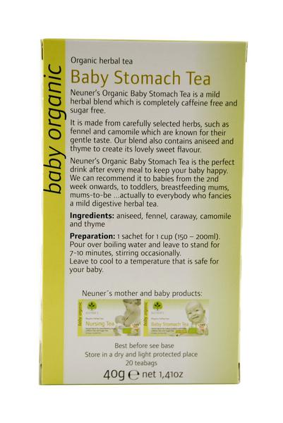 Baby Stomach Ease Tea ORGANIC image 2