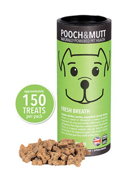 Fresh Breath Treat Dog Biscuits Gluten Free