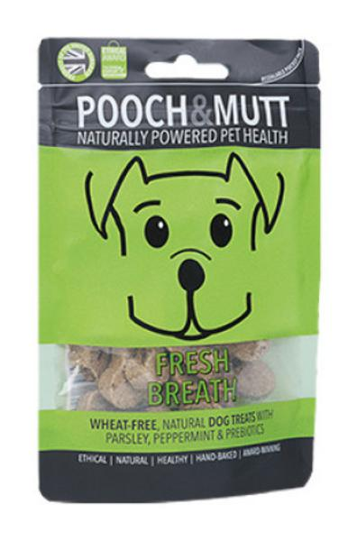 Fresh Breath Pocket Pack Dog Biscuits Gluten Free