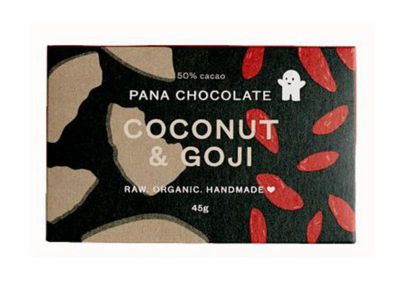 Coconut & Goji Raw Chocolate Gluten Free, Vegan, ORGANIC