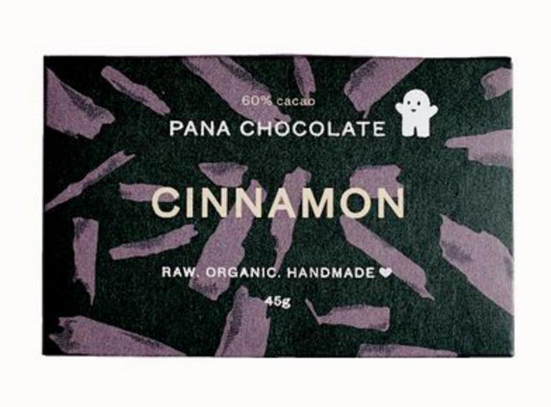Cinnamon Raw Chocolate Gluten Free, Vegan, ORGANIC