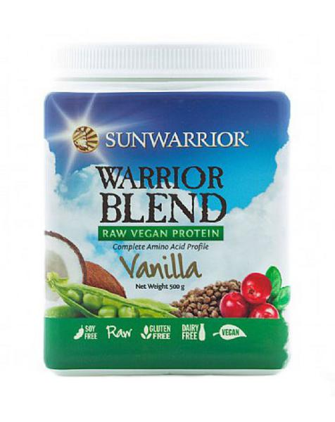 Vanilla Warrior Blend Raw Protein Gluten Free, Vegan