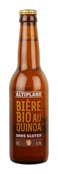 Altiplano Quinoa Beer Gluten Free, ORGANIC