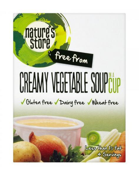 Creamy Vegetable Soup Gluten Free, Vegan