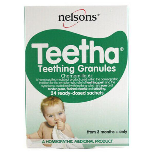 Homeopathic Remedy Teething Granules