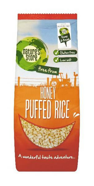 Honey Puffed Cereal Gluten Free, wheat free